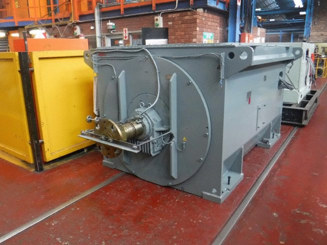 Marthinusen coutts completes motor rebuild for zambian for Who rebuilds electric motors