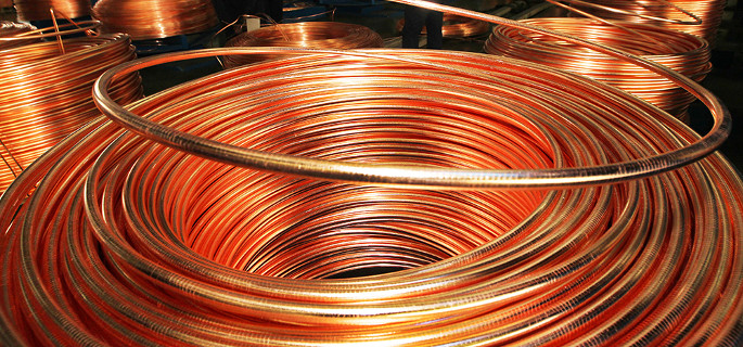 Copper maintains steady trend
