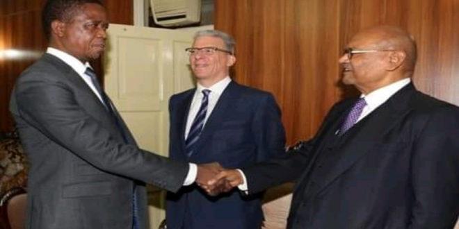 President Lungu gives ear to Argawal over KCM